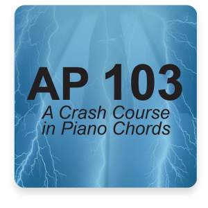 AP 103: Advanced Piano Chords DVD Course Set (Includes Online Access)