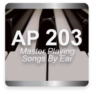 AP 203: Mastering Transcribing Songs By Ear USB Course Set (Includes Online Access)