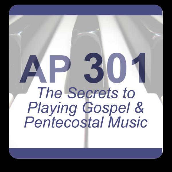 AP 301: Next Level Piano