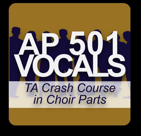 AP 501: A Crash Course in Choir Parts USB Course Set (Includes Online Access)