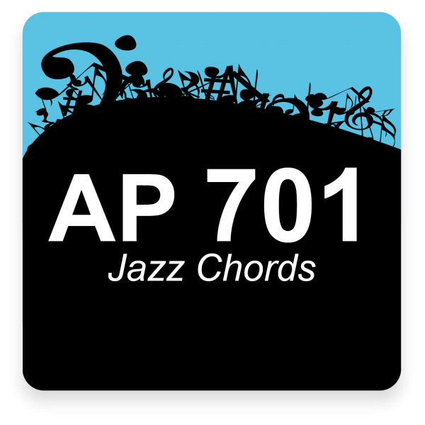 AP 701: Jazz Gospel Chords USB Course Set (Includes Online Access)