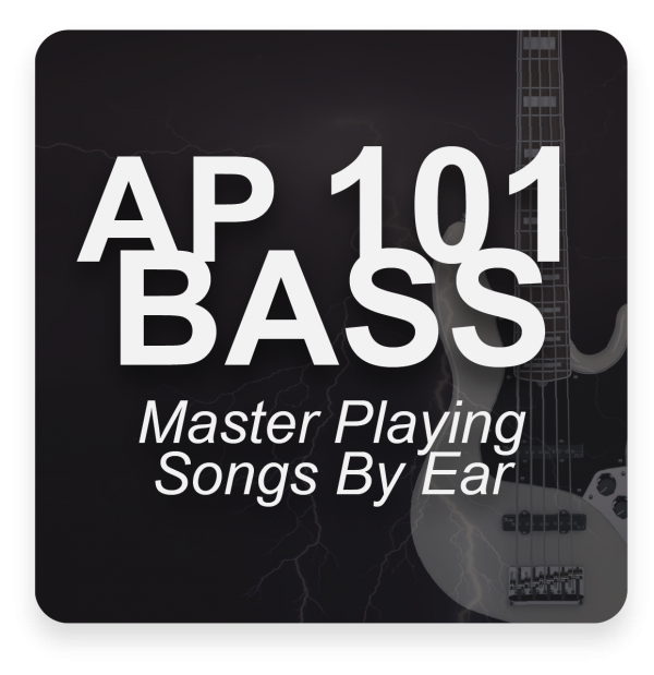 AP 101 BASS: A Crash Course in Bass Guitar USB Course Set (Includes Online Access)