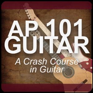 AP 101 GUITAR: A Crash Course in Guitar