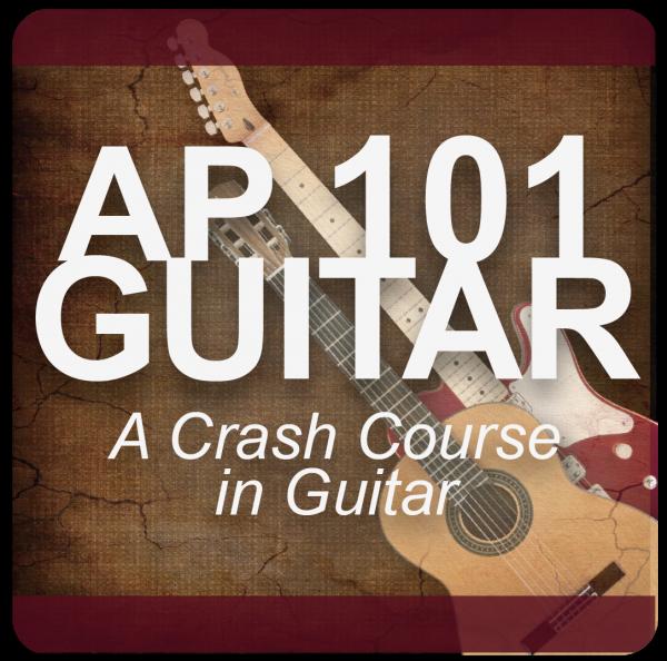 AP 101 GUITAR: A Crash Course in Guitar DVD Course Set (Includes Online Access)